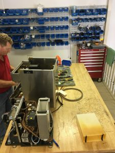 coffee machine repair brisbane workshop