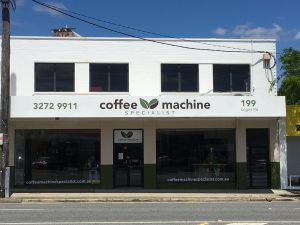 coffee machine specialist shop